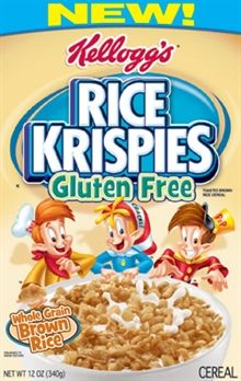 Rice Krispies® cereal) and is made with whole grain brown rice to differentiate it from the original and for flavor. Description from blog.fooducate.com. I searched for this on bing.com/images