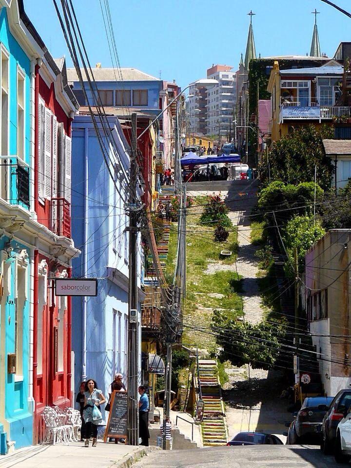 Cerro Alegre, Valparaíso.