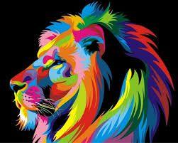 """Résultat de recherche d'images pour """"картина по номерам лев"""""""
