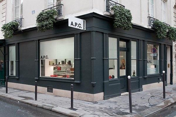APC. inspiration for our new facade
