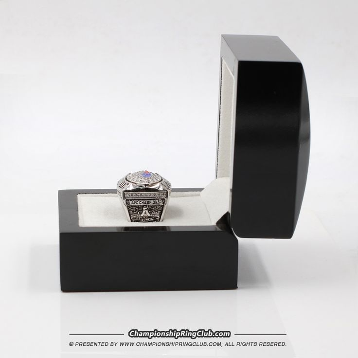 New England Patriots 2007 AFC Championship Ring - championshipringclub.com