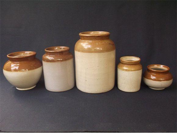 Jadeelu In A Row Ceramic Jars Kitchen Jars Pickle Jars