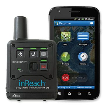 The Delorme InReach allows you to stay connected even in cell phone dead zones. Very useful on a solo cross-country tour or just for peace of mind. Allows for satellite communication through text when linked with a Android smartphone. Service @ about 10$ a month makes this the cheapest form of satellite based communication i can think of.