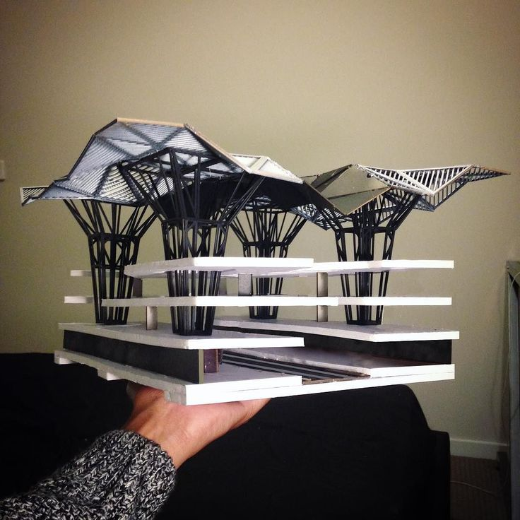 #nextarch by @dmdesigns__ #next_top_architects Physical Model | Structure | Roof Canopy...