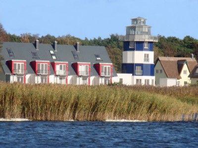 MV     Deichhaus Breege 3c Breege-Juliusruh - Deichhaus vom Breeger Bodden aus