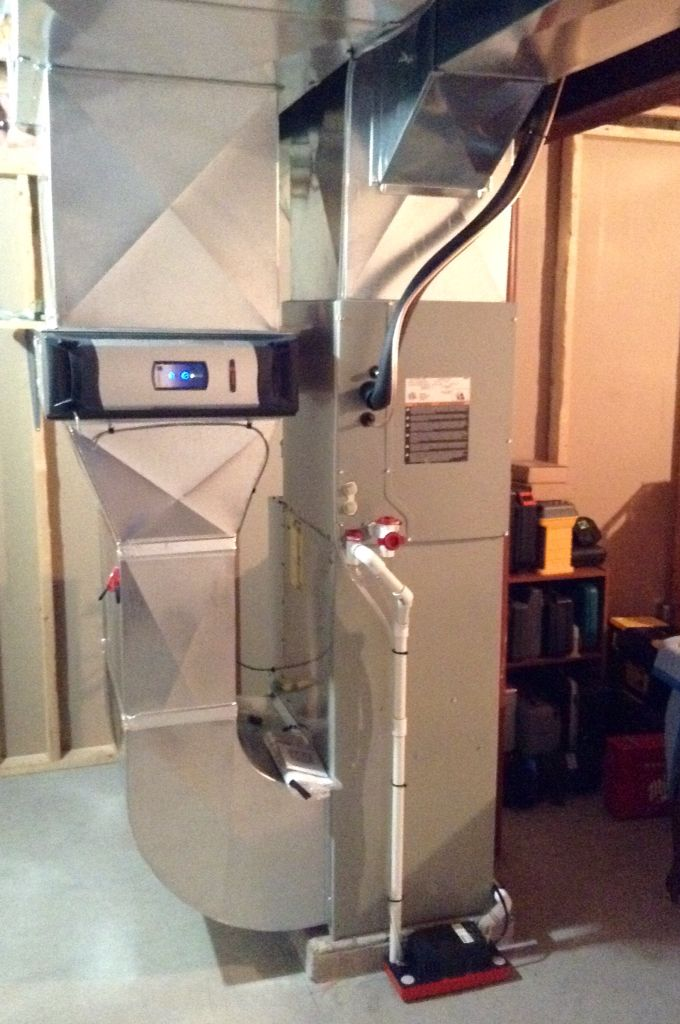 Replace Pathetic Oil Furnace With Trane Modulating Gas Furnace Move Furnace 15 Feet Closer To Centre Of Basement Pick U Oil Furnace Air Heating Gas Furnace