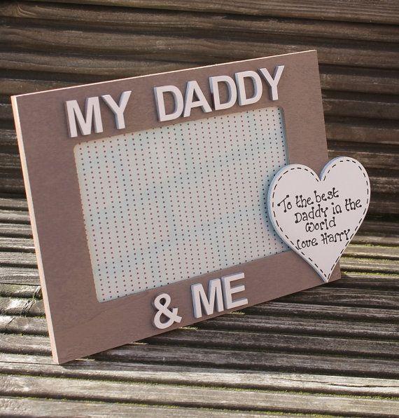 Personalizzati di mio papà e mi portafoto con il di scratchycat