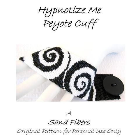 3 for 2 Program - Hypnotize Me Peyote Cuff - For Personal Use Only PDF Pattern