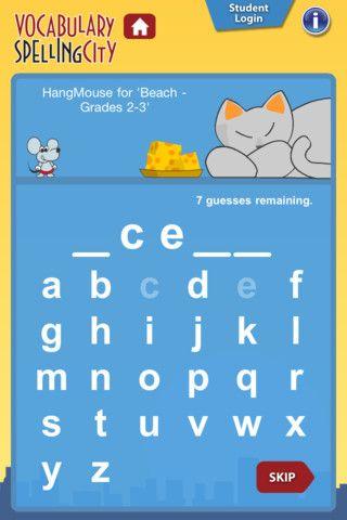 updated spellingcity app just released today :)