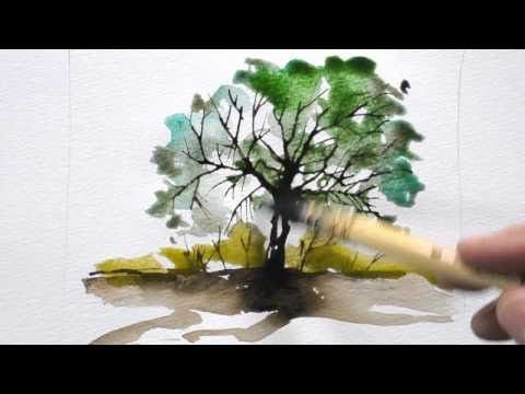Bettags-Malschule – Aquarellmalerei mit Batikkännchen – YouTube