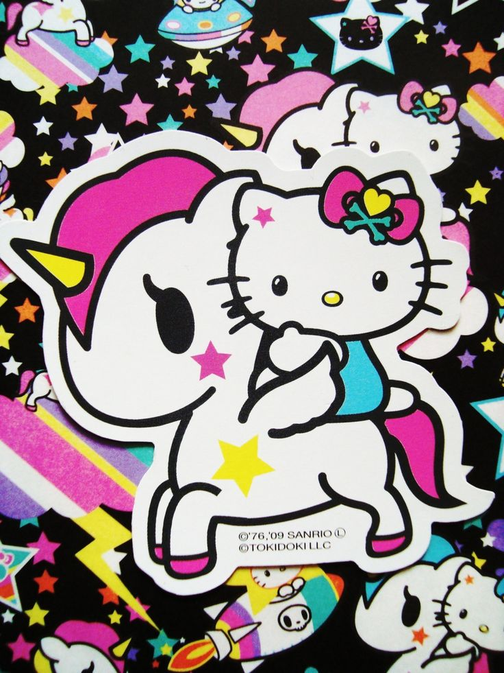 Hello Kitty Tokidoki Unicorn