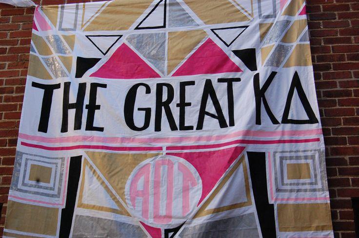 The Great KD Bid Day theme