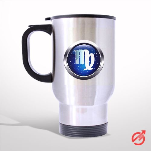 Zodiac Virgo Travel Mug