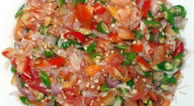 resep dabu dabu ini sangat cocok untuk pendamping masakan ikan baik goreng maupun bakar
