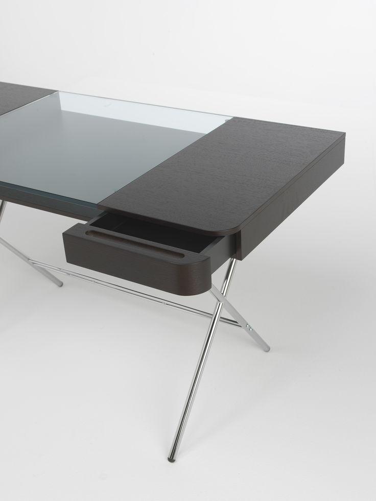 Cosimo Desk Design Marco Zanuso Jr   Wenge Stained Oak Veneer. Adentro Www. Adentro