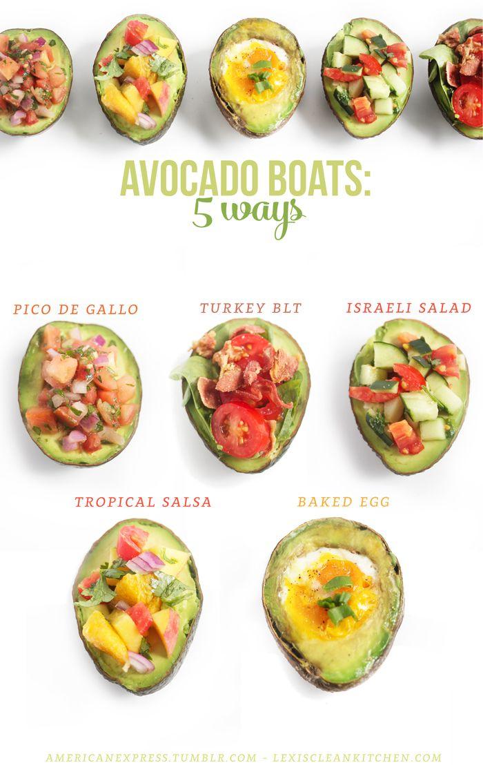 Avocado Boats: 5 Ways