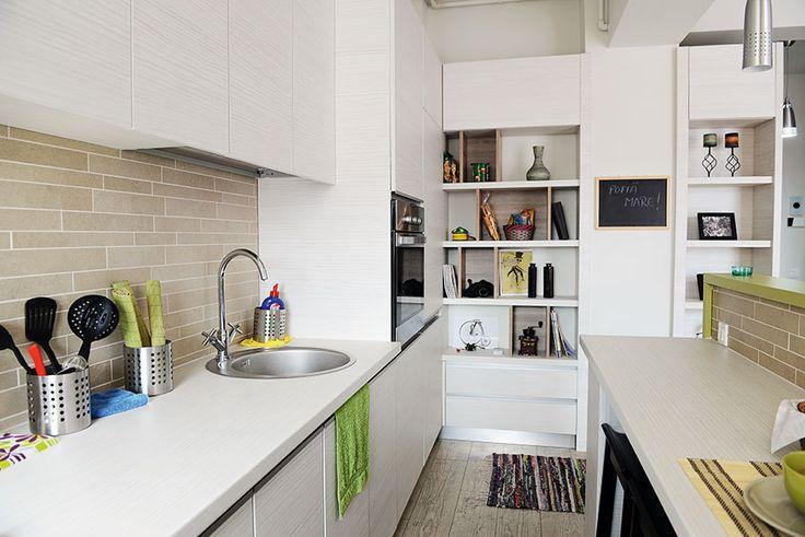 Garsonieră transformată în apartament cu două camere 7