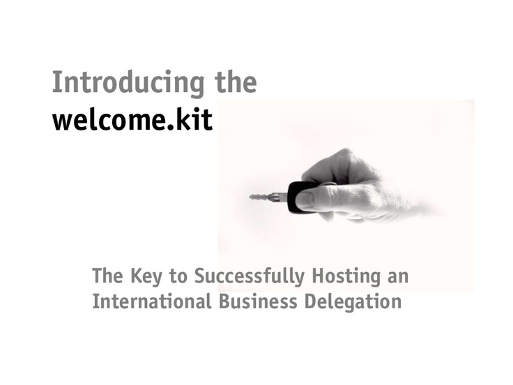 Successfully Hosting an International Business Delegation by change.project gmbh via Slideshare