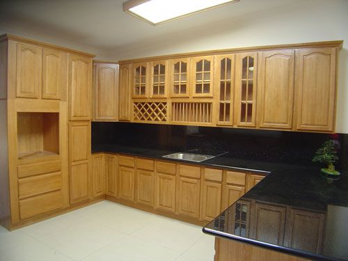 54 best Oak Kitchen Cabinets images on Pinterest Oak kitchens