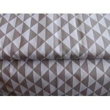 100% BAVLNA - trojúhelníky šedé