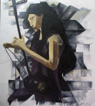 O Erhu - Por Miguel Arthuro | Arte Contemporânea