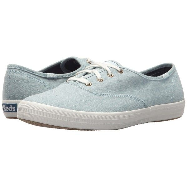 ee0baae69c202 Keds Champion Seasonal Solid (Light Blue) Women s Lace up casual Shoes (€41