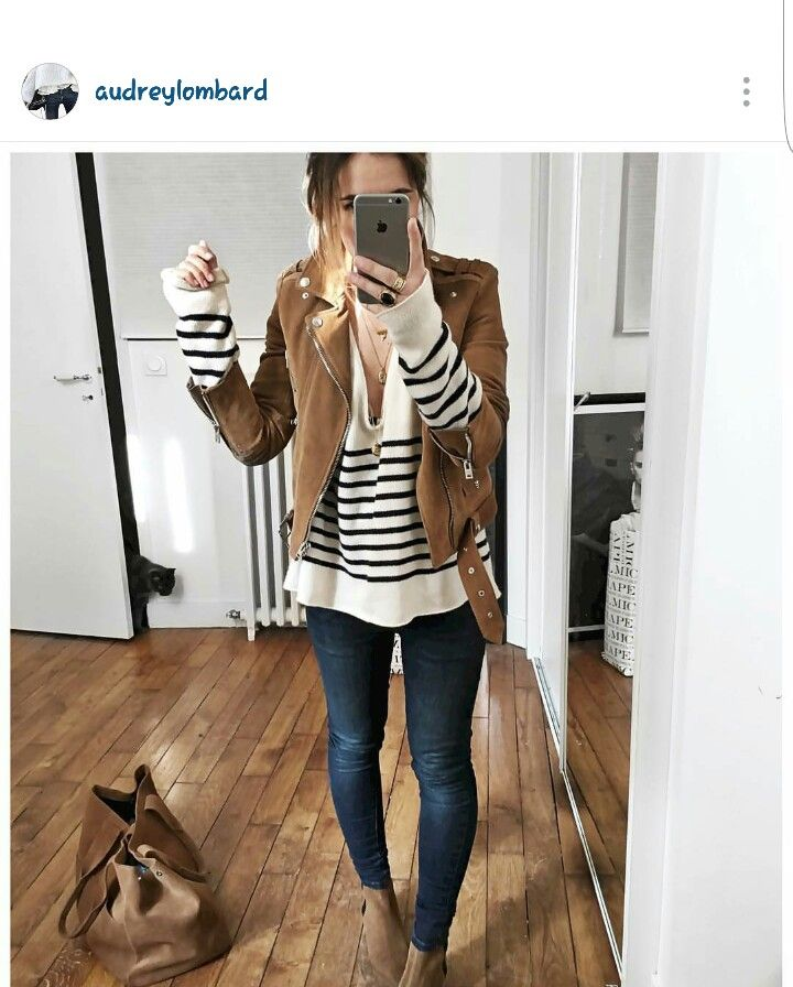 brown and stripes