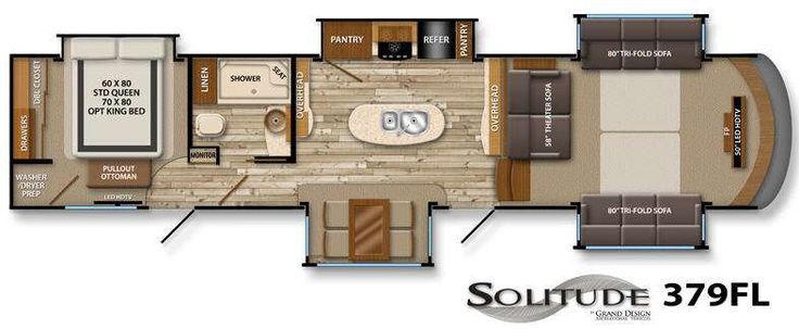 Floor Plans Luxury Fifth Wheel And Living Room Floor Plans On Pinterest