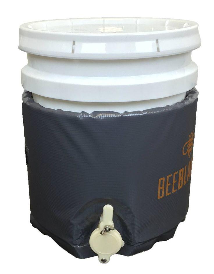 honey heater - BB05GV - Bee Blanket 5 Gallon Pail Heater w/Gate Valve –…