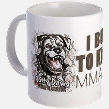 I Bust Mine To Kick Yours MMA Gear Mug for
