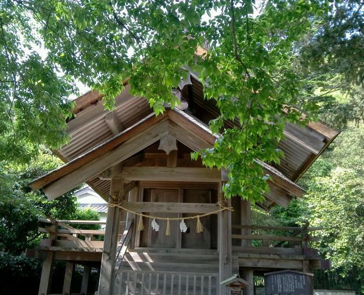 命王社(いのちぬしのやしろ) The Inochinushinoyasiro shrine,Izumo,Shimane,Japan May 2012