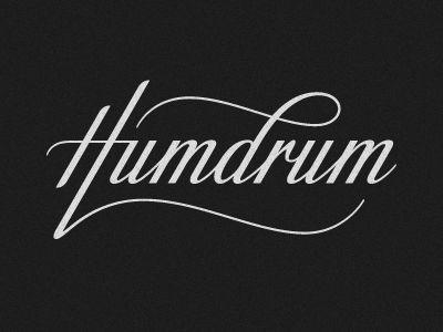 Humdrum logo by Simon Ålander