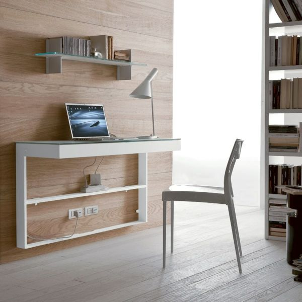 1000 idee n over bureau suspendu op pinterest table tr teau bureau tr t - Bibliotheque bureau design ...