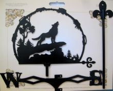 Флюгер Воющий волк 2