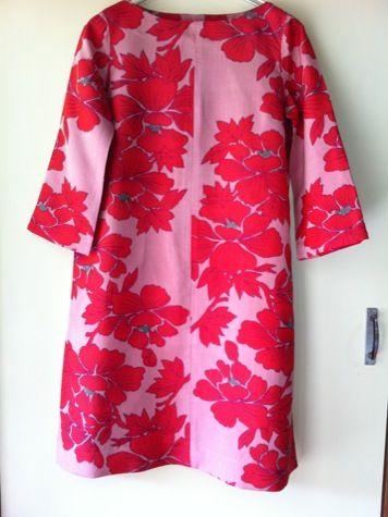 着物古布のワンピ : カヲル商店の日記