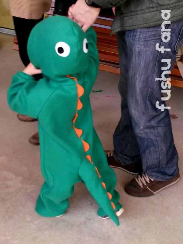 FushuFana: Disfraz de dinosaurio / Dino Costume (Choco Pops, Ottobre design)