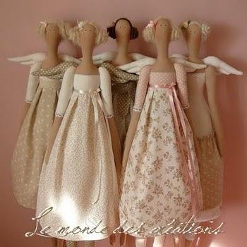 Tilda dolls  so cute