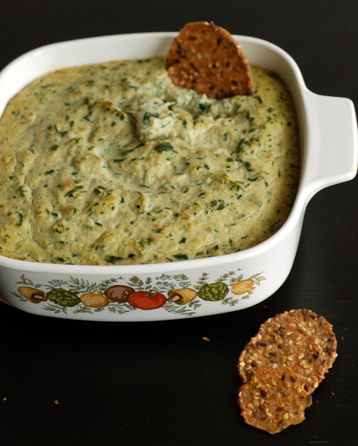 Warm Spinach and Artichoke Dip | Sauces/Dips | Pinterest