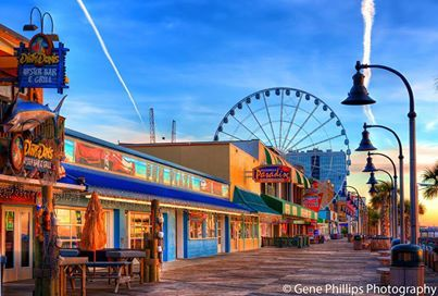 Myrtle Beach SC. We didn't get to check out the boardwalk last time, but I'm going to make sure we do this summer!