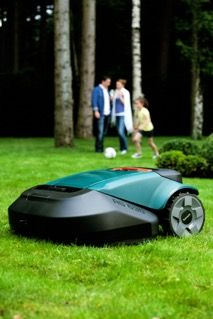 Robomow robot lawn mower - similar in cost to name brand riding lawn mowers but doesn't require a human to operate it!