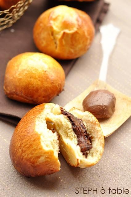 Briochettes au Nutella