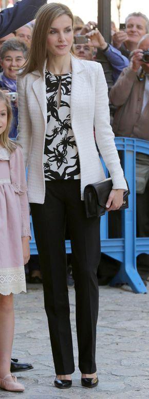 SS.MM. los Reyes, S.M. la Reina Doña Sofía y SS.AA.RR. la Princesa de Asturias y la Infanta Doña Sofía Misa del Domingo de Pascua Catedral de Palma de Mallorca, 05.04.2015
