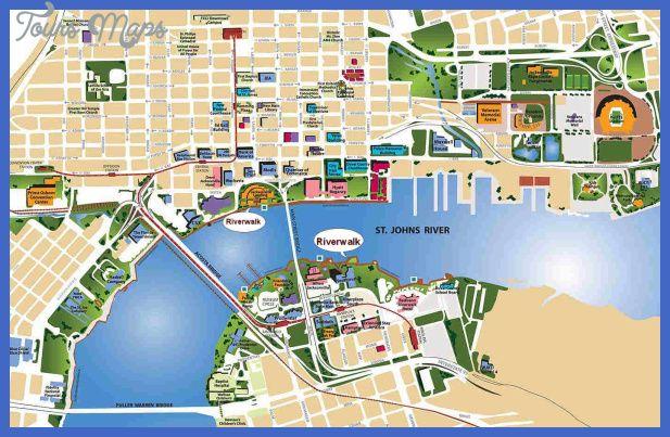 Jacksonville Map - http://toursmaps.com/jacksonville-map.html