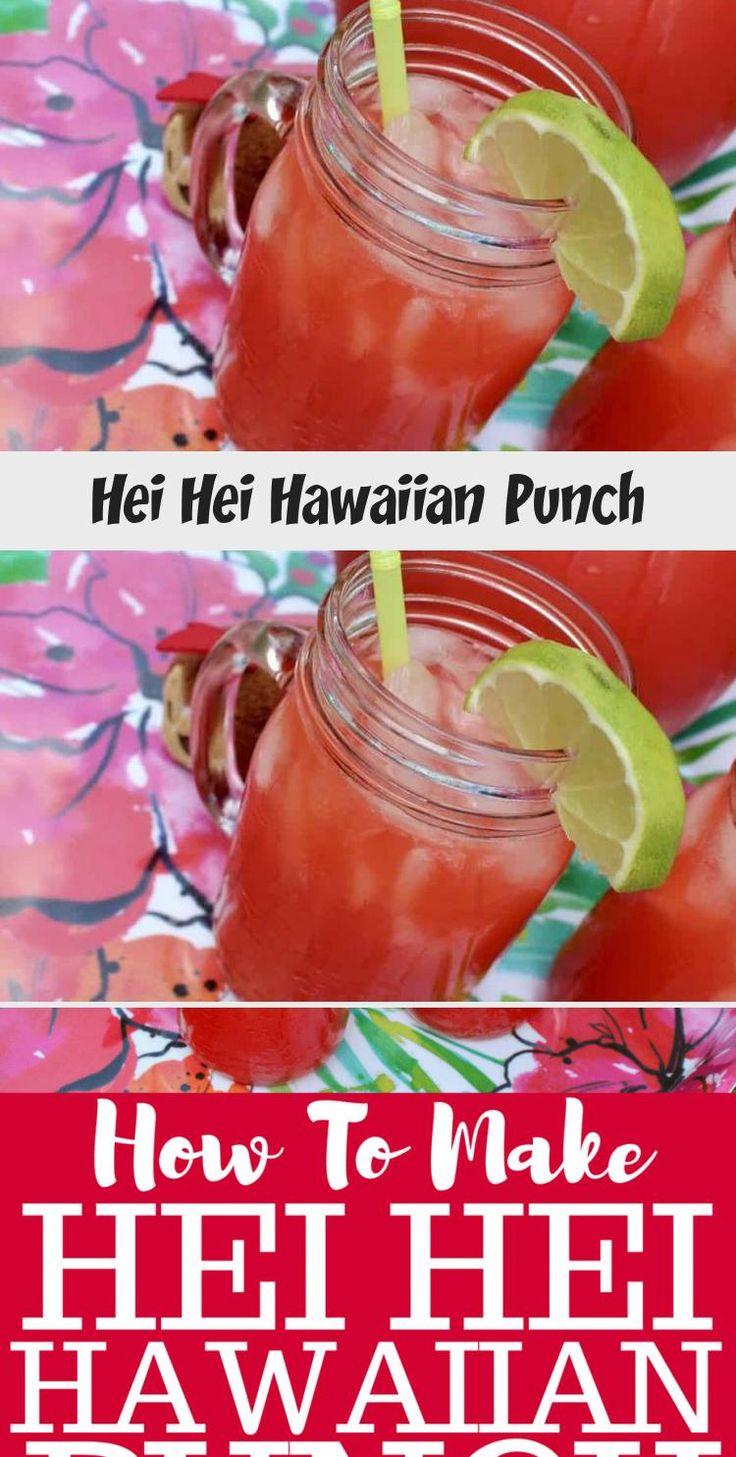 Disney Inspired Recipe Hei Hei Hawaiian Punch!