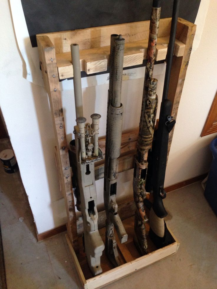 pallet gun rack range creations pinterest pallets guns and gun storage. Black Bedroom Furniture Sets. Home Design Ideas