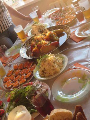 Local dinner - Astana