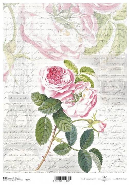 vargovamiroslava / ryžový papier ružičky