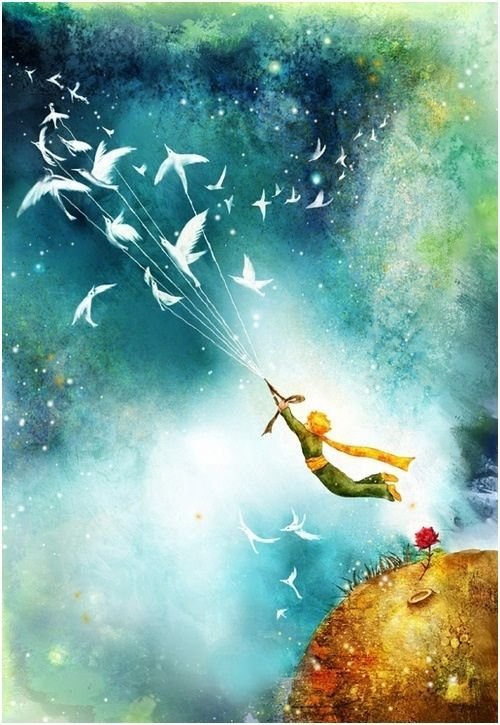 the little prince book images | Fan art... From the book