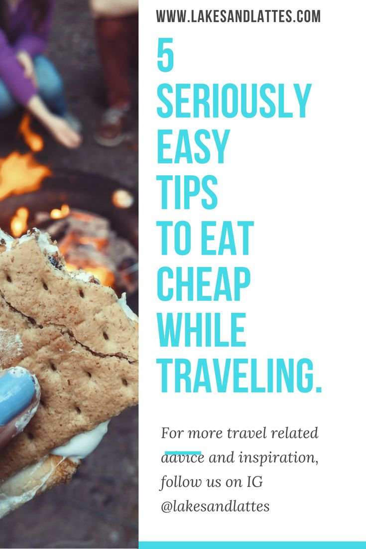 Here are my tips to eat cheap while traveling the world! Read on to learn the simple ways to save money, time, and effort while on the road!