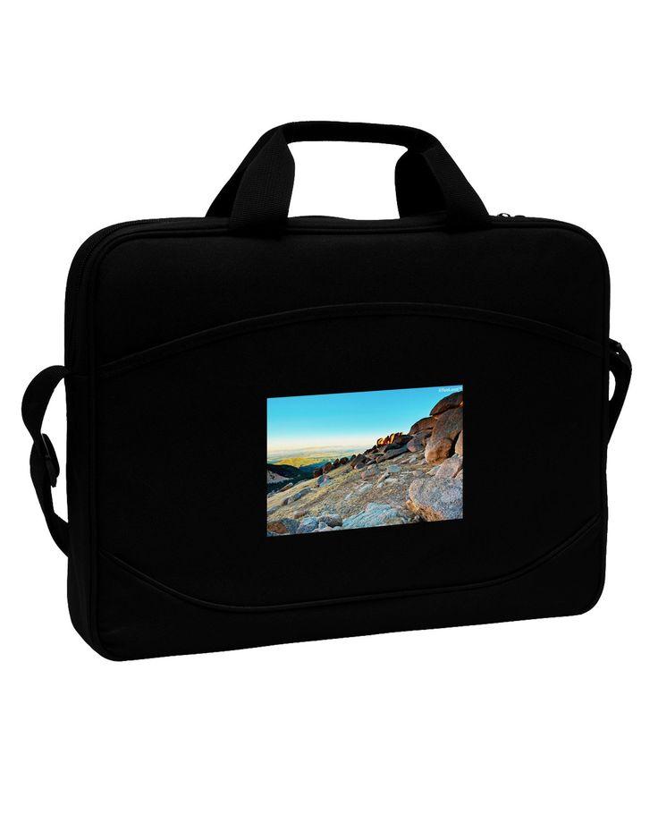 "CO Rockies View 15"" Dark Laptop / Tablet Case Bag"
